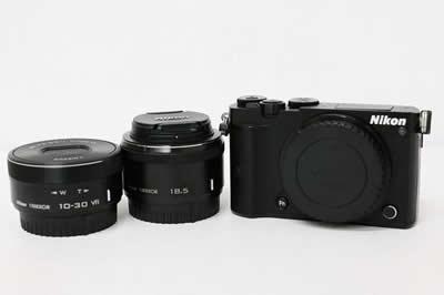 Nikon ニコン Nikon1 J5 ダブルレンズキット ブラック