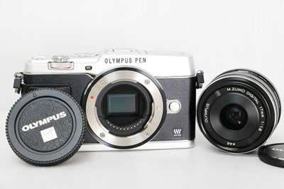 OLYMPUS オリンパス PEN E-P5 17mm F1.8 レンズキット