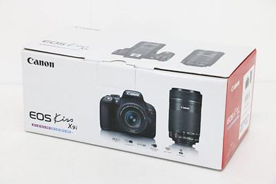 Canon キャノン EOS KISS X9i ダブルズームキット