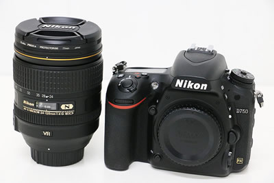 Nikon ニコン D750 24-120 4G VR kit