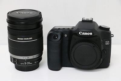 Canon キャノン EOS 50D EF-S18-200 IS レンズキット