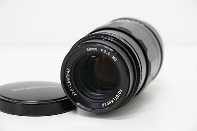 Voigtlander フォクトレンダー APO-LANTHAR 90mm F3.5 MC レンズ