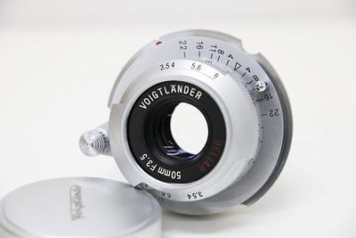 Voigtlander フォクトレンダー HELIAR 50mm F3.5 レンズ