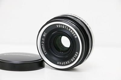Voigtlander フォクトレンダー COLOR-SKOPAR 35mm F2.5 MC レンズ