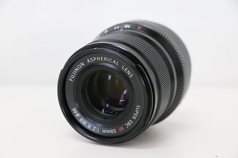 FUJIFILM 富士フイルム XF50mm F2 R WR ブラック レンズ