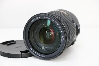 SIGMA シグマ 17-50mm F2.8 EX DC OS HSM for Canon レンズ
