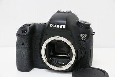 【買取実績】Canon キャノン EOS 6D ボディ デジタル一眼レフカメラ
