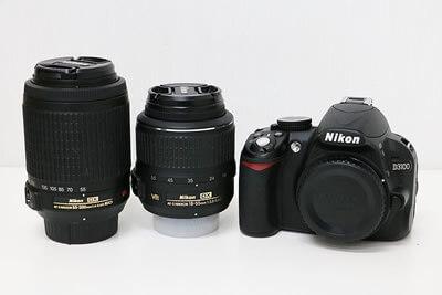 【買取実績】Nikon ニコン D3100 ダブルズームキット デジタル一眼レフ