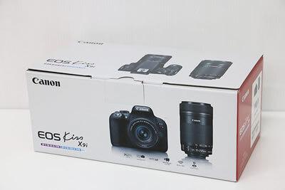 【買取実績】Canon キャノン EOS Kiss X9i ダブルズームキット デジタル一眼レフ