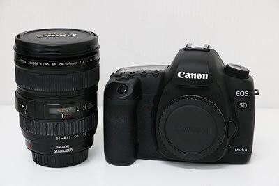【買取実績】Canon キャノン EOS 5D MarkⅡ 24-105 L レンズキット デジタル一眼レフ