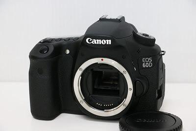 【買取実績】Canon キャノン EOS 60D ボディ デジタル一眼レフ