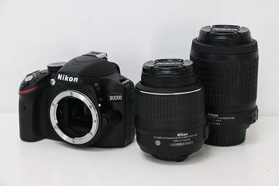 【買取実績】Nikon ニコン D3200 200mm ダブルズームキット デジタル一眼レフ