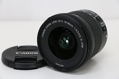 【買取実績】Canon キャノン EF-S 10-18mm F4.5-5.6 IS STM