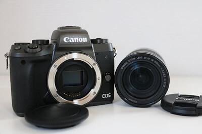 【買取実績】Canon(キャノン) EOS M5 EF-M18-150 IS STM レンズキット