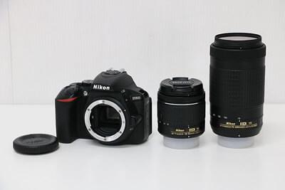 【買取実績】Nikon ニコン D5600 ダブルズームキット カメラバッグ付