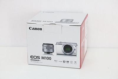 【買取実績】Canon キャノン EOS M100 EF-M15-45 IS STM レンズキット ホワイト