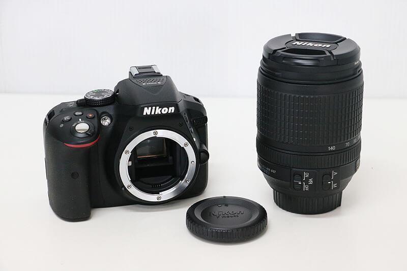【買取実績】Nikon ニコン D5300 18-140 VR レンズキット