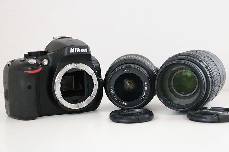 【買取実績】Nikon(ニコン) D5100 ダブルズームキット