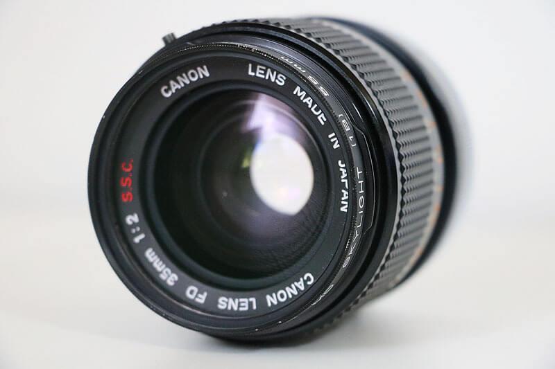 【買取実績】Canon キャノン FD 35mm F2 S.S.C. レンズ