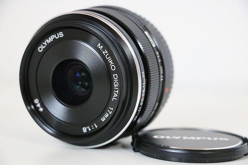 【買取実績】OLYMPUS オリンパス M.ZUIKO DIGITAL 17mm F1.8 レンズ ブラック