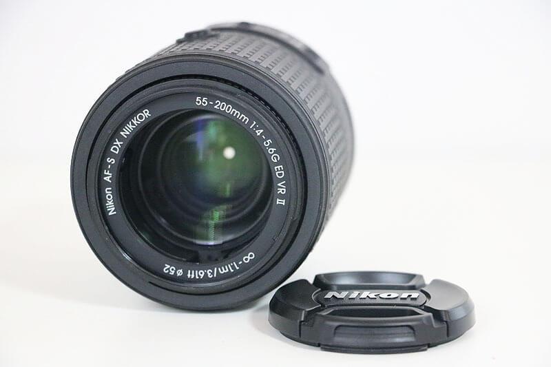 【買取実績】Nikon ニコン AF-S NIKKOR 55-200mm F4-5.6G II ED