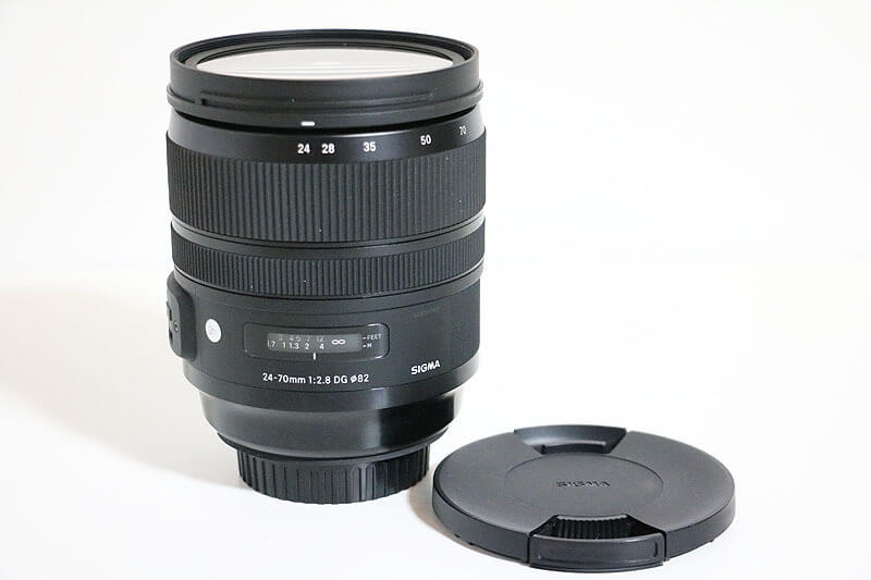 【買取実績】SIGMA シグマ 24-70mm F2.8 DG OS HSM ART for Canon