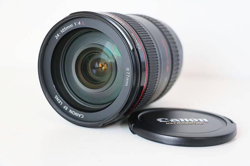 【買取実績】Canon キャノン EF24-105mm F4L IS USM レンズ