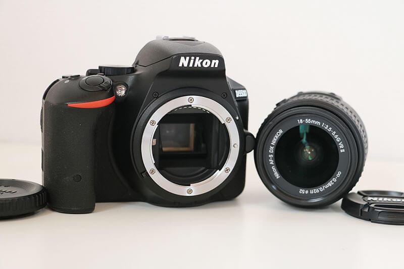 【買取実績】Nikon ニコン D5500 18-55mm Ⅱ VR レンズキット