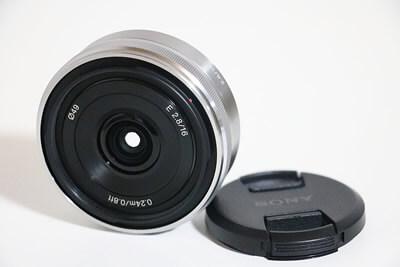 【買取実績】SONY ソニー E16mm F2.8 SEL16F28 レンズ