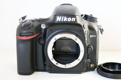 【買取実績】Nikon ニコン D610 ボディ