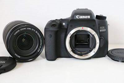 【買取実績】Canon キャノン EOS 8000D EF-S 18-135 IS STM レンズキット