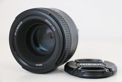 【買取実績】Nikon ニコン AF-S NIKKOR 50mm F1.8G