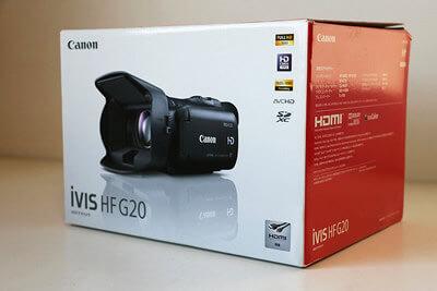 【買取実績】Canon キャノン iVIS HF G20 デジタルビデオカメラ