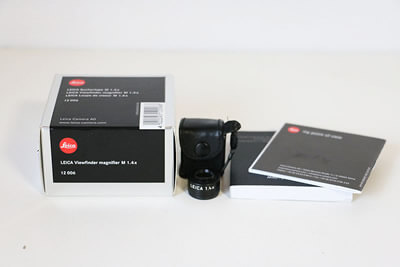 【買取実績】Leica ライカ ビューファインダーマグニファイヤー M1.4x