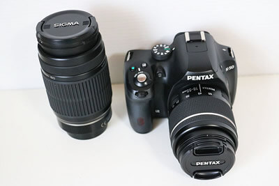 【買取実績】PENTAX ペンタックス K-50 300mm ダブルズームキット