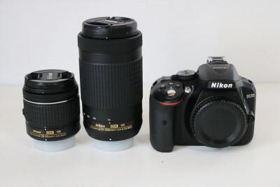 【買取実績】Nikon ニコン D5300 AF-P ダブルズームキット