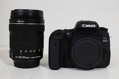 【買取実績】Canon キャノン EOS 8000D EF-S18-135 IS STM レンズキット