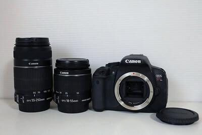【買取実績】Canon キャノン EOS Kiss X6i ダブルズームキット