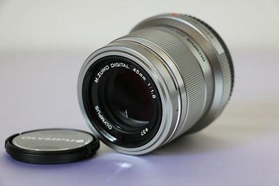 【買取実績】OLYMPUS オリンパス M.ZUIKO DIGITAL 45mm F1.8 レンズ