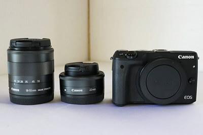 【買取実績】Canon キャノン EOS M3 ダブルレンズキット