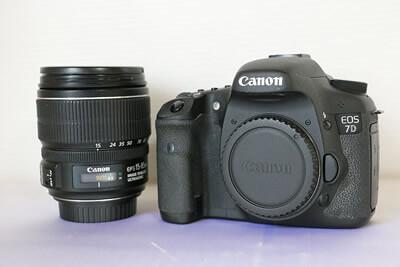 【買取実績】Canon キャノン EOS 7D EF-S15-85 IS U レンズキット