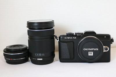 【買取実績】OLYMPUS オリンパス PEN Lite E-PL7 ダブルズームキット