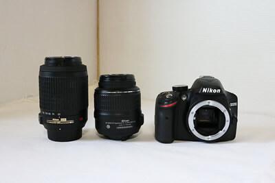 【買取実績】Nikon ニコン D3200 ダブルズームキット