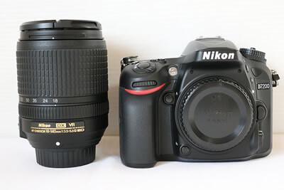 【買取実績】Nikon ニコン D7200 18-140 VR レンズキット
