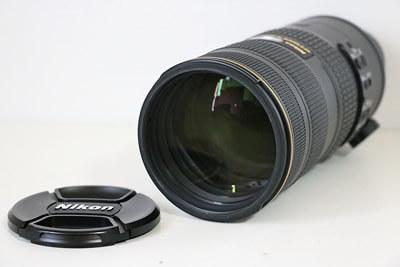 【買取実績】Nikon ニコン AF-S NIKKOR 70-200mm F2.8 G ED N VR II