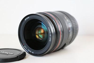 【買取実績】Canon キャノン EF24-70mm F2.8L USM レンズ