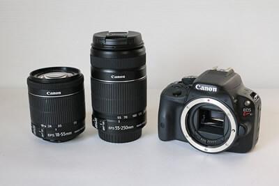 【買取実績】Canon キャノン EOS Kiss X7 ダブルズームキット