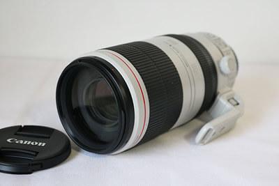 【買取実績】Canon キャノン EF100-400mm F4.5-5.6L IS II USM 付属品完備 レンズ