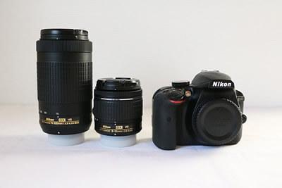 【買取実績】Nikon ニコン D3400 ダブルズームキット