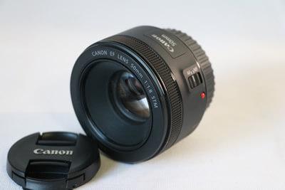 【買取実績】Canon キャノン EF50mm F1.8 STM レンズ